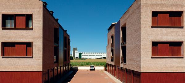 Edifici con appartamenti privati, San Giorgio di Piano.Private residential flats, San Giorgio di Piano.