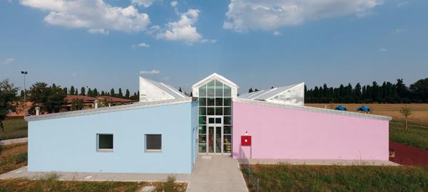 Scuola materna, Argelato.Nursery school, Argelato.