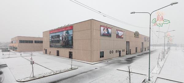Cinema multisala, Sant'Agata Bolognese.Multiplex cinema, Sant'Agata Bolognese.